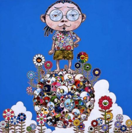 Takashi Murakami-Me Among the Supernatural-