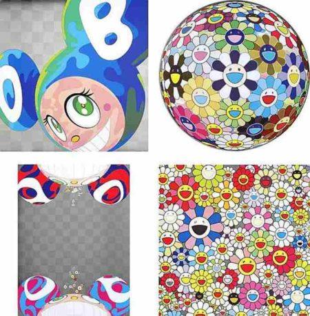 Takashi Murakami-Melting DOB A, Flower Ball (3D) Kindergarten, Flowers Have Bloomed, Such Cute Flowers-2011