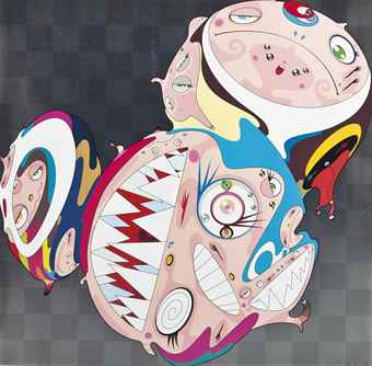 Takashi Murakami-Melting DOB D-2008