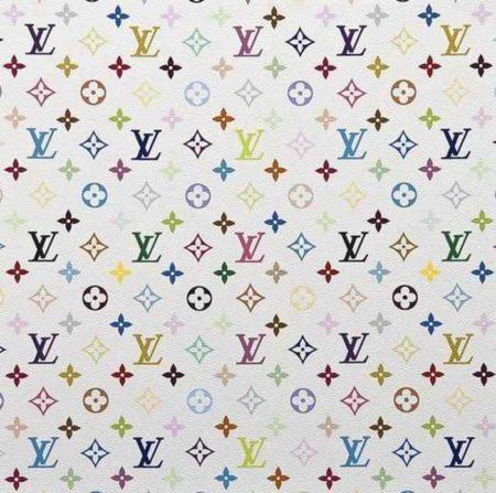 Takashi Murakami-Mongram Multicolore-White-2007