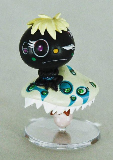 Takashi Murakami-Mr. Oval the Mediator-Black-2003