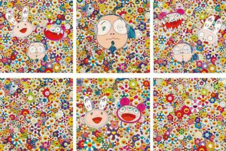 Takashi Murakami-Murakami-Kun Quel Surprise, Kaikai Kiki and Me-For Better Or Worse, Kaikai Kiki and Me-The Shocking Truth Revealed, Flowers, Kaikai and Kiki-Lots of Fun, Flowers In Heaven-2010