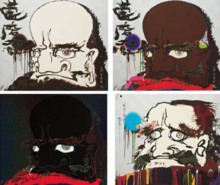 Takashi Murakami-My arms and legs rot off, From the preceived debris of the universe, The road to illumination stretches too far ahead, Initiate the speed of cerebral synapse at free will-2007