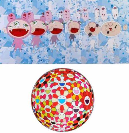 Takashi Murakami-Nirvana, Flowerball Goldfish (3D)-2008