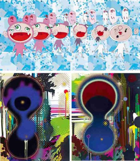 Takashi Murakami-Nirvana, Gemini Nebula, Dumb Compass-