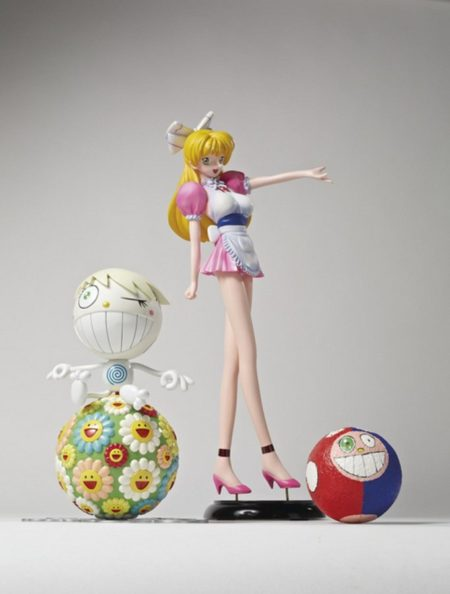 Takashi Murakami-Norton Family Christmas Gift, Project KO2 Model, Maquette-2000