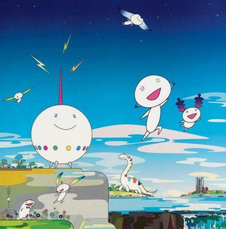 Takashi Murakami-Planet 66-2007