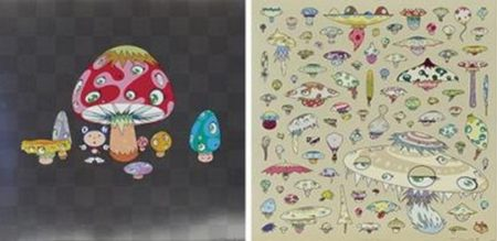 Takashi Murakami-Poke !, Champignon-2003