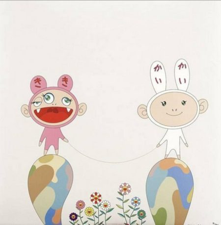Takashi Murakami-Red Rope-2001