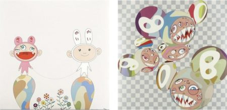 Takashi Murakami-Red Rope, Para-Kiti DOB-2001
