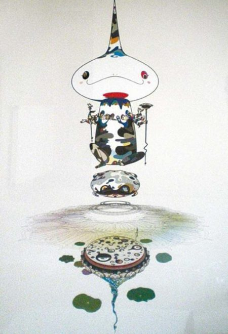 Takashi Murakami-Reversed Double Helix-2005