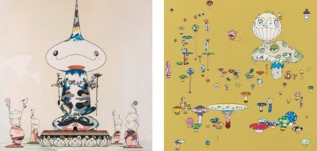 Takashi Murakami-Reversed Double Helix Mega Power, Making a U-Turn The Lost Child Finds His Way Home-2005