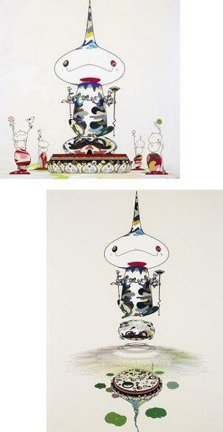 Takashi Murakami-Reversed Double Helix Mega Power, Reversed Double Helix-2005