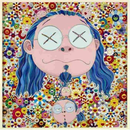 Takashi Murakami-Self-Portrait of the Distressed Artist-2009