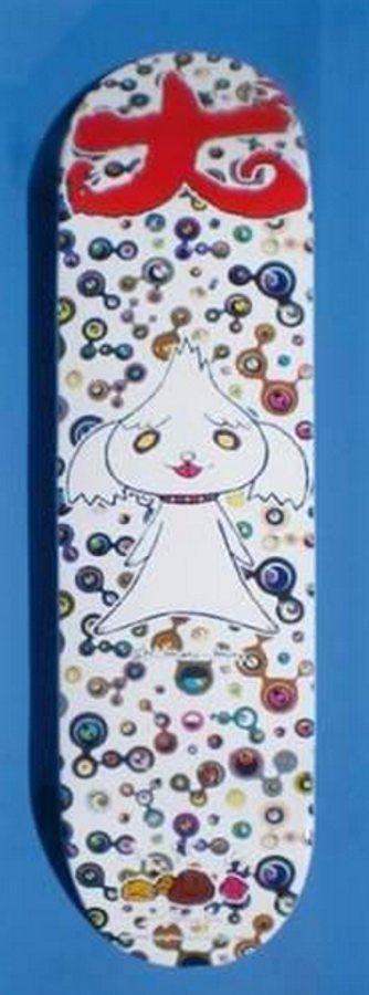 Takashi Murakami-Shimon-Kun Skateboard-2007