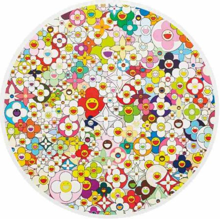 Takashi Murakami-Super Flat, First Love, Flower-2010