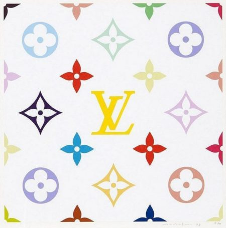 Takashi Murakami-Superflat Monogram Lemon-2003