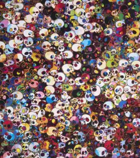 Takashi Murakami-There are Little People Inside Me-2011