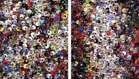 Takashi Murakami-There are little people inside me, I do not rule my dreams my dreams rule me-2011