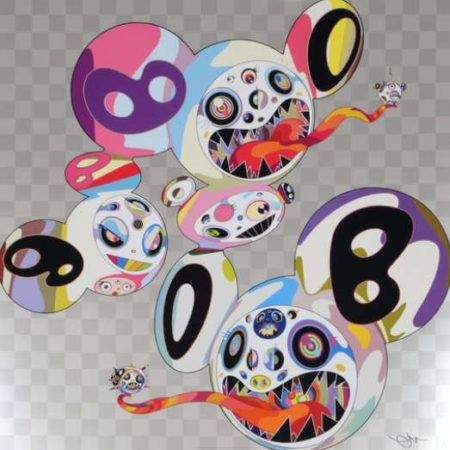 Takashi Murakami-This World and the World Beyond-2013