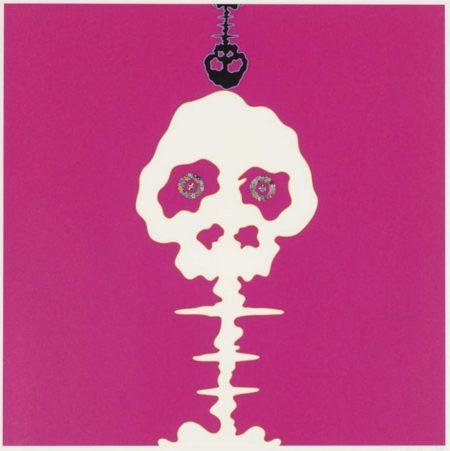 Takashi Murakami-Time Bokan-Pink-2006