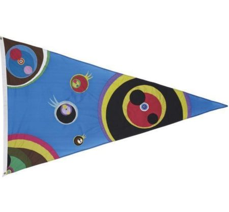 Takashi Murakami-Untitled (Flag)-2003