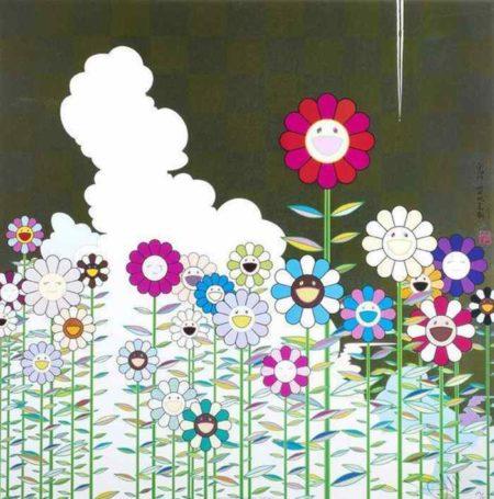 Takashi Murakami-Warm and Sunny (Poka Poka)-2011