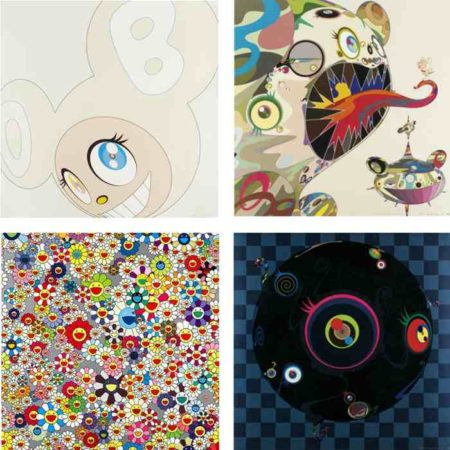 Takashi Murakami-White DOB, Homage to Francis Bacon, Flower, Blackbeard-2003