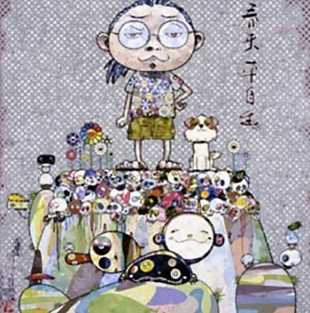 Takashi Murakami-With Eyes on the Reality of 100 Years from Now-