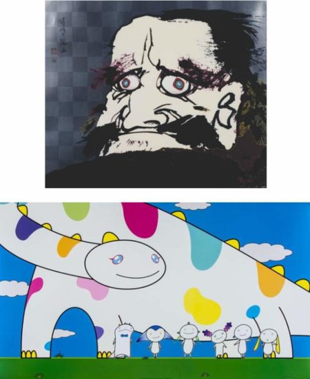 Takashi Murakami-Yoshiko and the creatures from planet 66, I open wide my eyes and see no scenery...-2007