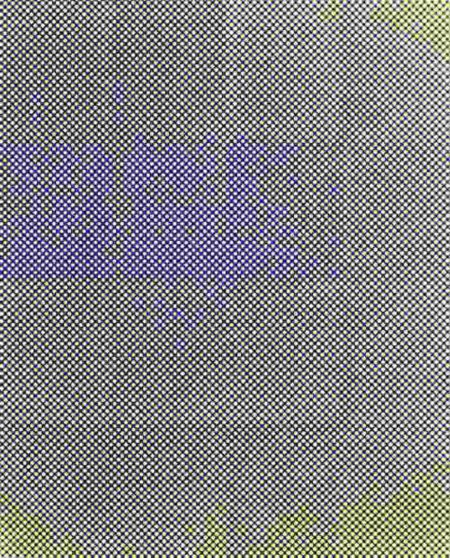Tauba Auerbach-Untitled (Fold)-2009