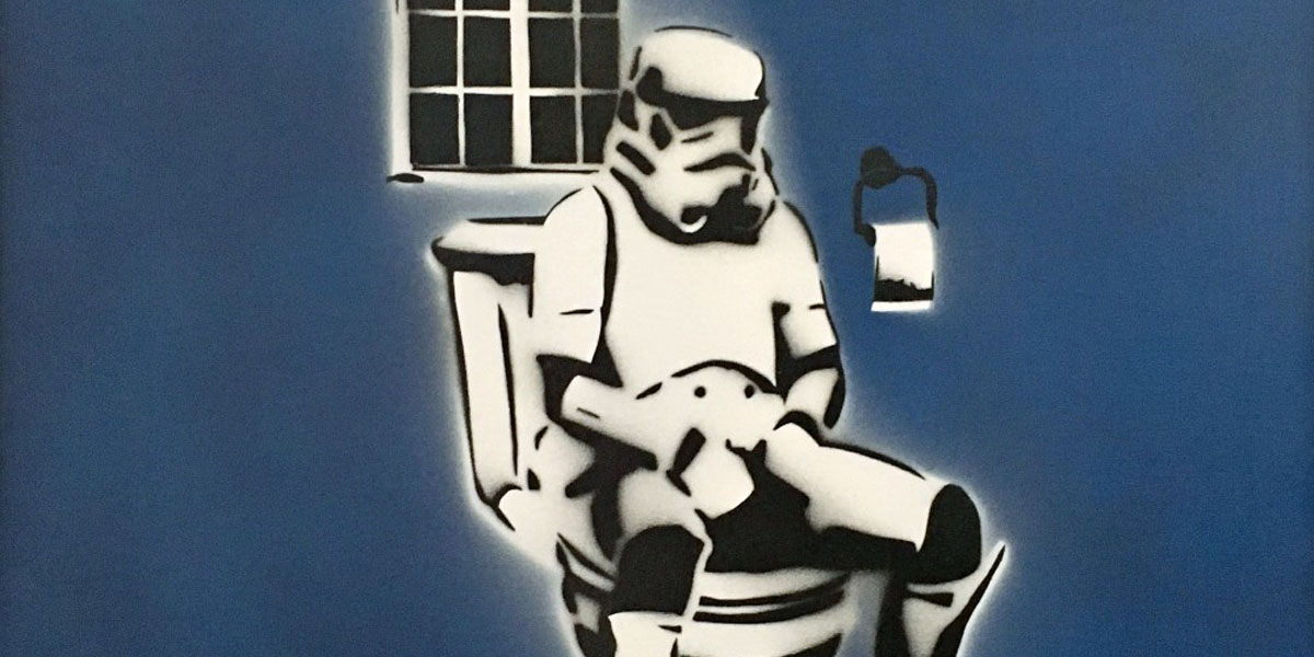 Teves - Stormtrooper (detail), 2008 - image courtesy of Ministry of Walls