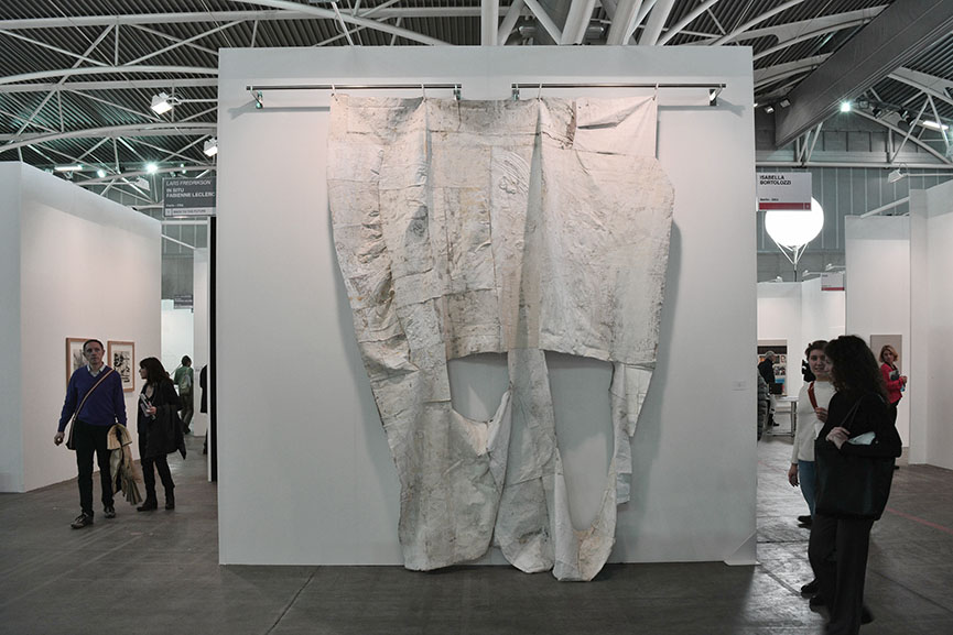 Oscar Murillo - Untitled, 2015/16 with Isabella Bortolozzi