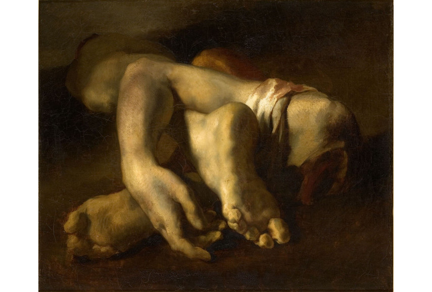 Théodore Géricault - The Raft of the Medusa (detail) - Image via documentingrealitycom