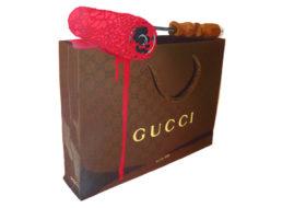 Gucci bag stencil