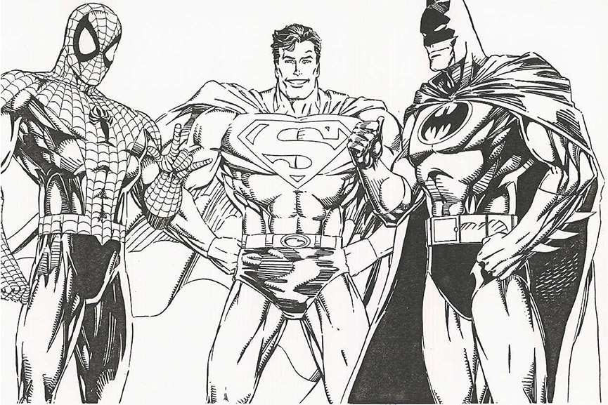 Superhero drawings learn how to draw a superhero and understand