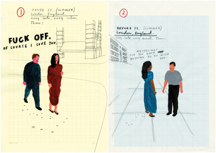 The illustration by Paul Davis