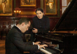 Marina Abramovic Igor Levit variations audience time work