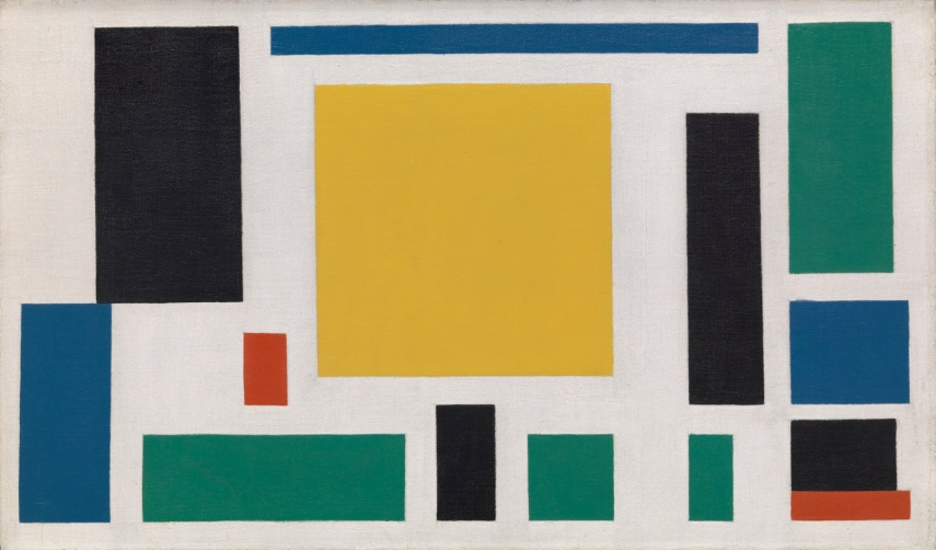 In many ways, Theo van Doesburg was the one who dictated the course of contemporary art with his visuals and concepts