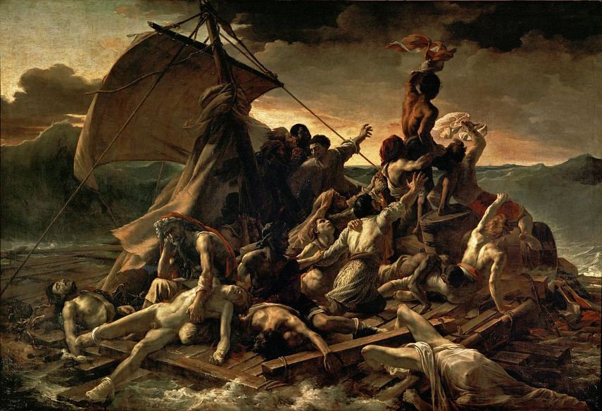 The Raft of the Medusa, made by Theodore Gericault in 1818, is one of the most important paintings ever put on canvas