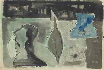 Theodoros Stamos-Untitled-1948