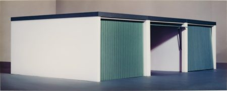 Thomas Demand-Three Garages-1995