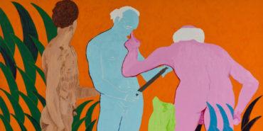 Thomas Lawson - Confrontation, Three Graces (detail), 2010
