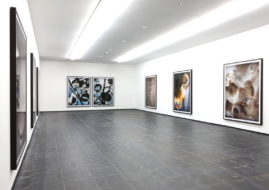 Thomas Ruff Installation View, via contemporaryartdaily com