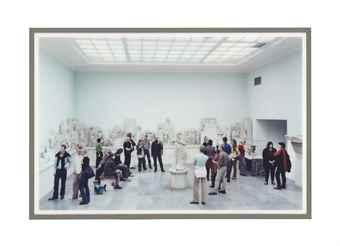 Thomas Struth-Pergamon Museum IV-2001