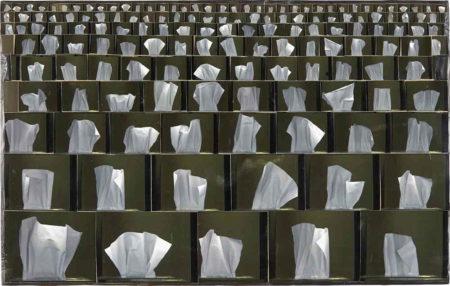 Tim Hawkinson-Study for Veil-2006