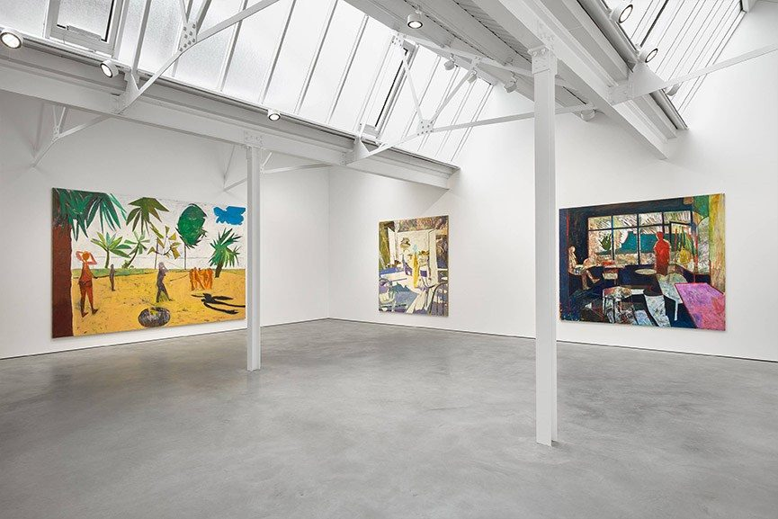Exhibition D View : Tim stoner exhibition wisdom of the crowd on view at