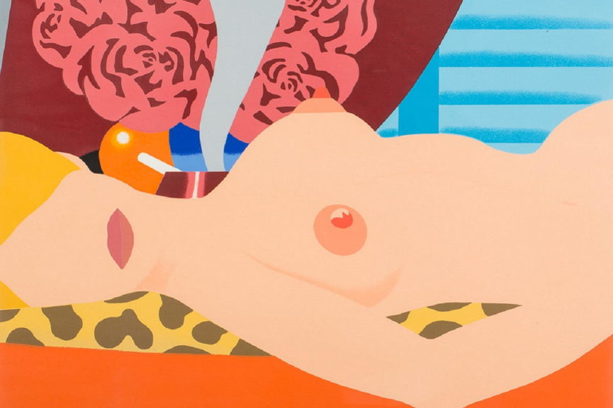 Tom Wesselmann - Nude, 1969, detail.