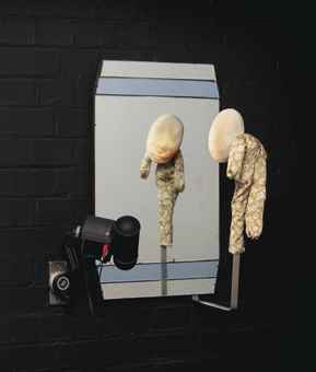 Tony Oursler-Mirror-1996