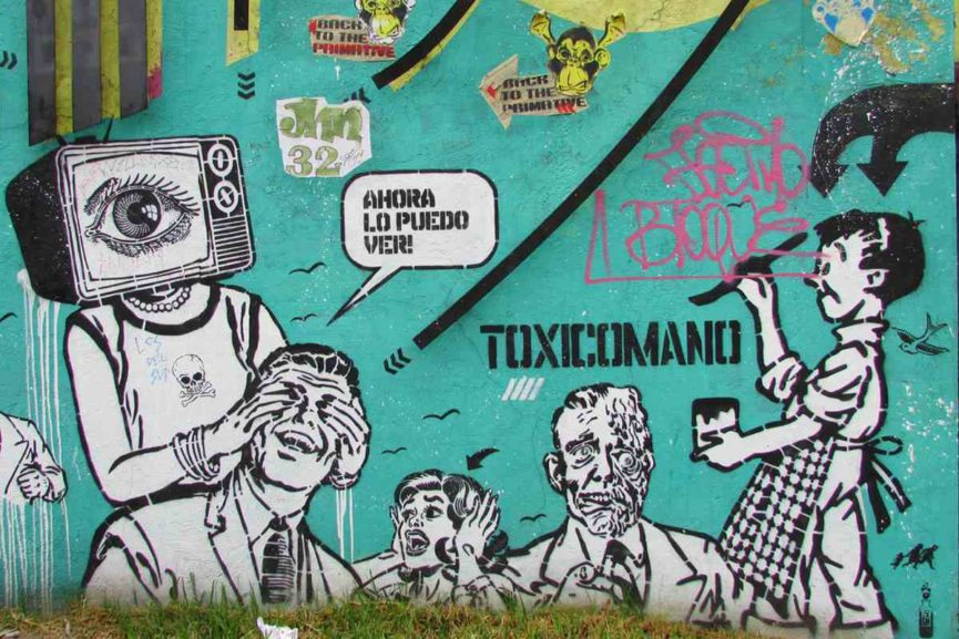 Punk street art